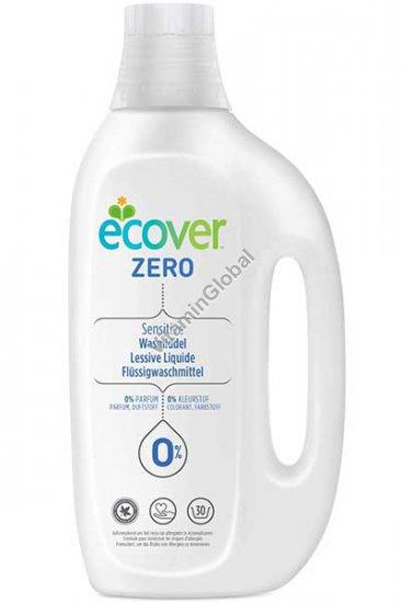 Жидкое средство для стирки для аллергиков, людей с чувствительной кожей, младенцев и детей 1.5 литра - Эковер