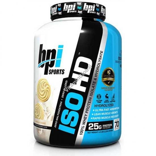 Протеин изолят ISO HD со вкусом ванильного печенья 2.240 кг - bpi Sports