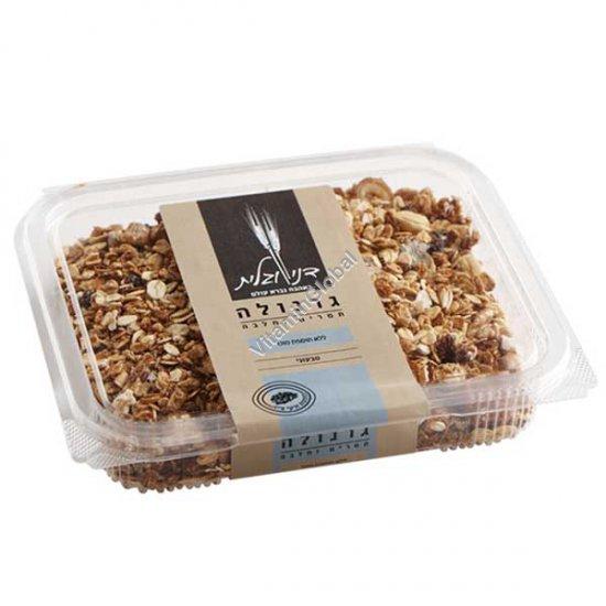 Гранола - смесь зерновых хлопьев с финиками и халвой, без добавления сахара 300 гр - Дани и Галит