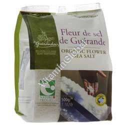 Органическая серая морская соль 1 кг - Guérande