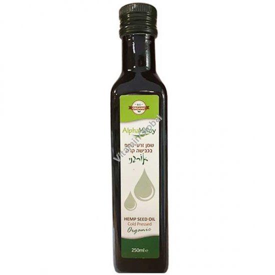 Органическое конопляное масло холодного отжима 236 мл - Nutiva