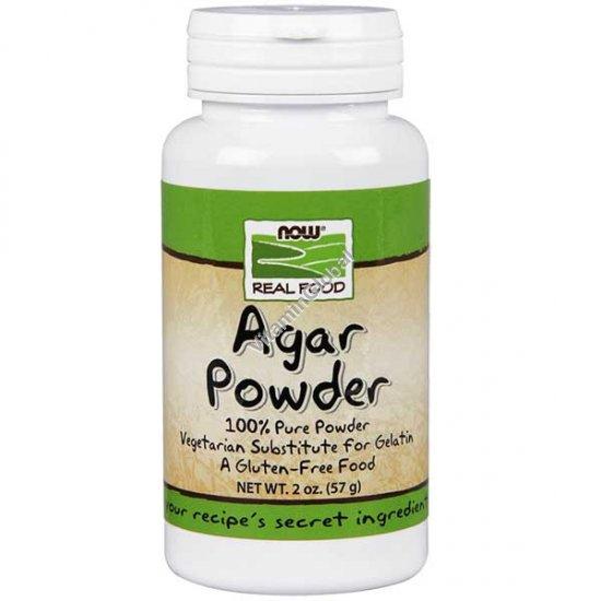 Агар-агар в порошке 57 гр - Now Foods