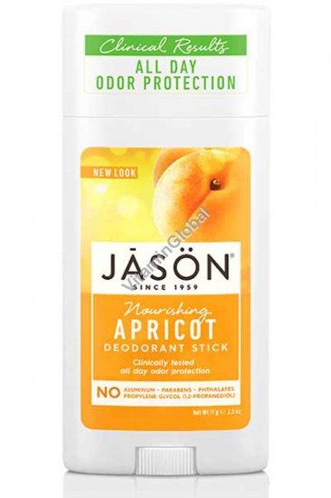 Дезодорант-стик абрикос 71 гр - Jason