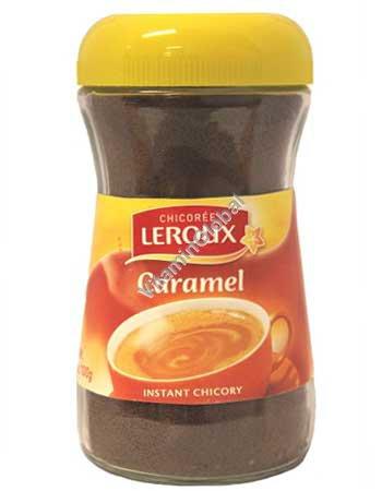 Быстрорастворимый заменитель кофе из цикория со вкусом карамели 100 гр - Leroux