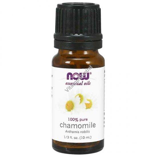 Масло римской ромашки 100% 10 мл - Now Essential Oils