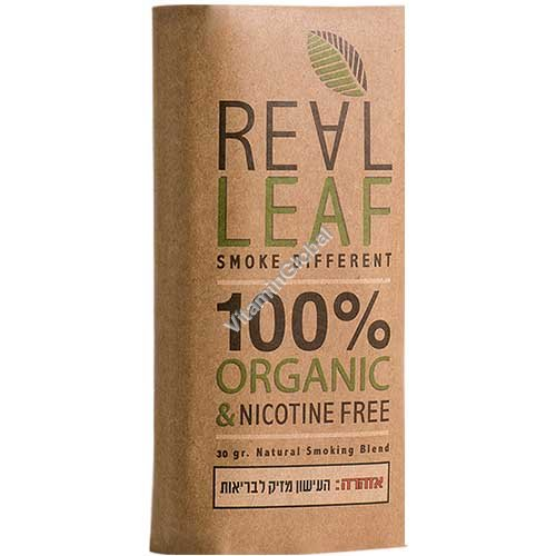 Заменитель табака - травяной сбор для курения без никотина 30 гр - Real Leaf