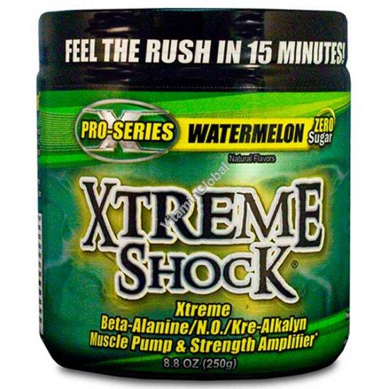 Экстрим шок - предтренировочный комплекс со вкусом арбуза 250 гр - Ansi