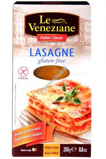 Безглютеновые листы лазаньи из рисовой и кукурузной муки 250 гр - Le Veneziane