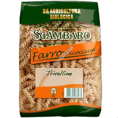Органические макароны фузилии из цельной спельтовой муки 500 гр - Sgambaro