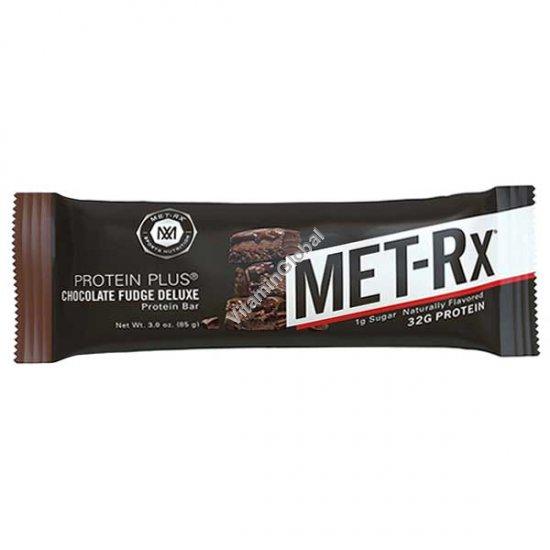 Протеиновый батончик шоколадная помадка 85 гр - MET-Rx