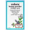 Хна для волос цвет бургунди-баклажан 60 гр - Colora