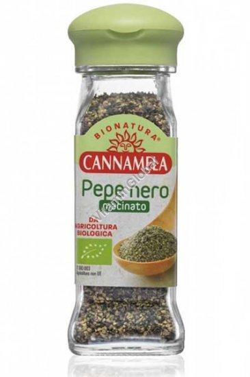 Органический молотый черный перец 50 гр - Cannamela