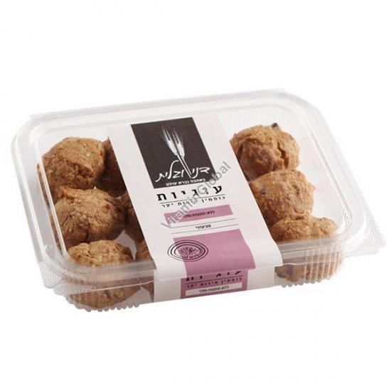 Печенье без сахара, из цельнозерновой спельтовой муки с лесными ягодами и клюквой 230 гр - Дани и Галит
