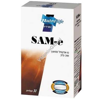 SAM-e 200 мг 30 таблеток - Altman