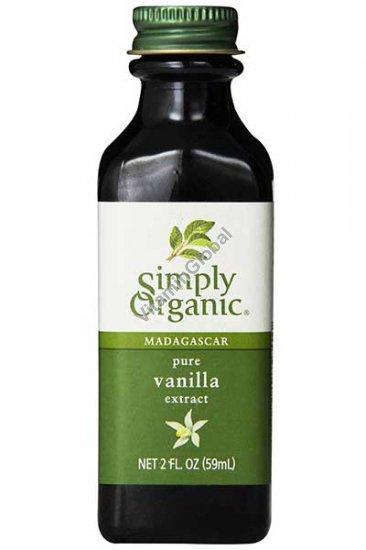 Органический экстракт ванили 59 мл - Simply Organic