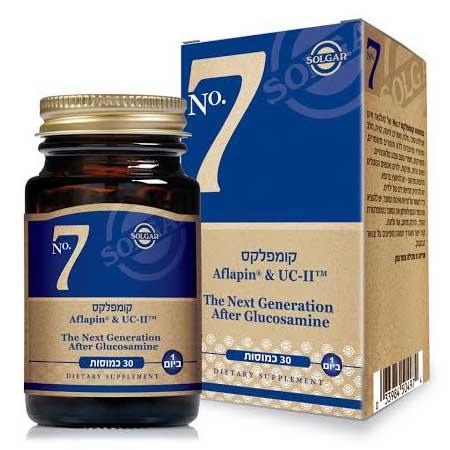 Комплекс №7 - для улучшения состояния суставов и хрящей 30 капсул - Солгар